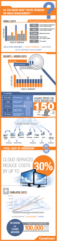 Cloud Services Savings Infographic