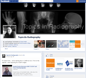 Topics in Radiography Facebook Page