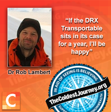 Dr. Rob Lambert, team expedition doctor for The Coldest Journey.