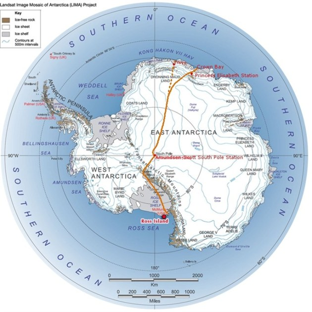 Map courtesy of http://thecoldestjourney.org and map created by LIMA Project