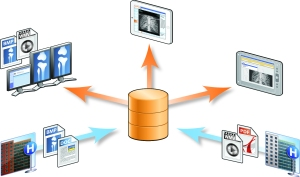 The archive preserves information in a vendor-neutral format, and is available across the enterprise for access.