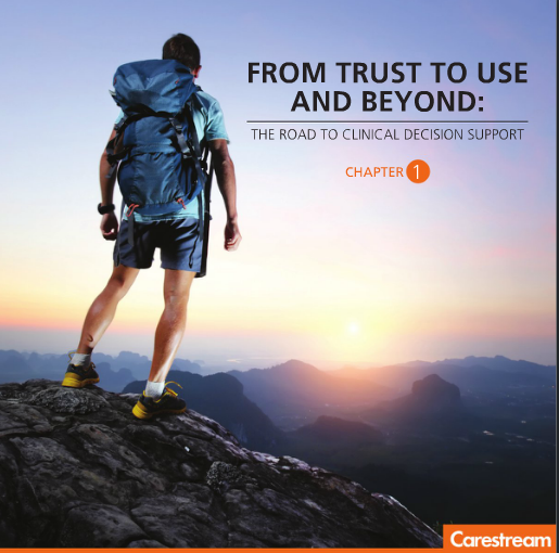 Click the image to access the first chapter of the eBook, From Trust to Use and Beyond: The Road to Clinical Decision Support.